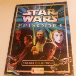 "Star Wars Episode 1 ""The Phantom Menace"" Merlin sticker Album Complete 1999 TOPPS"